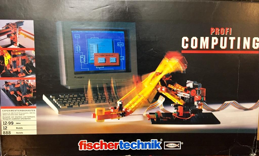 Kindheitstraum neu belebt: Fischertechnik Robotor am C64