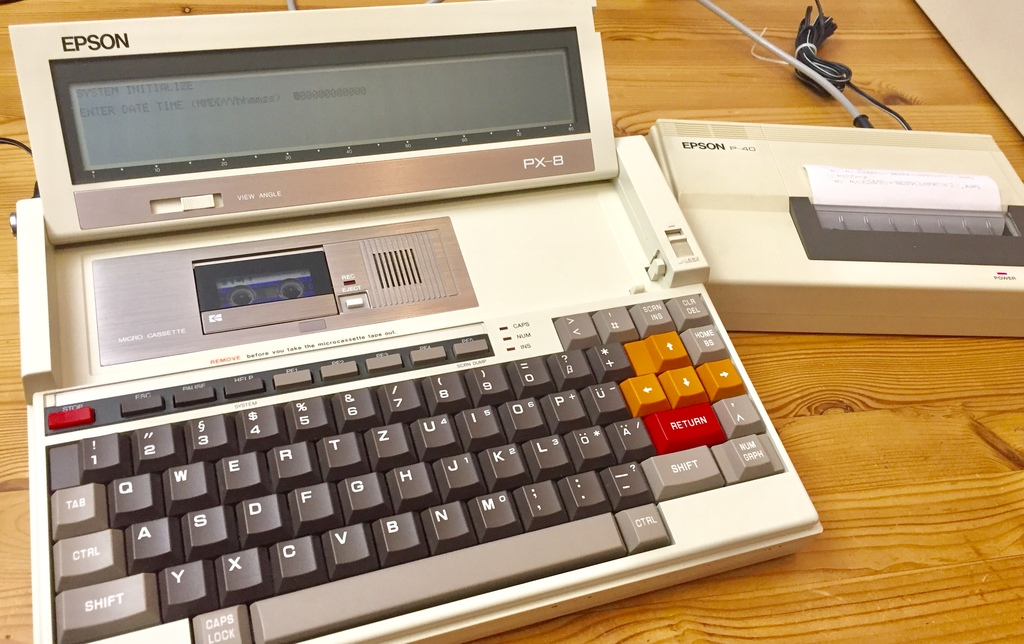 Dream-Machine: EPSON PX-8 Laptop
